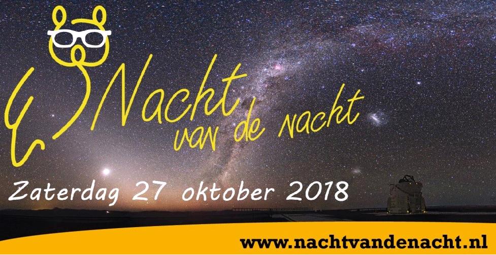 Herbert Dijkstra en Sacha de Boer nieuwe ambassadeurs voor de Nacht van de Nacht