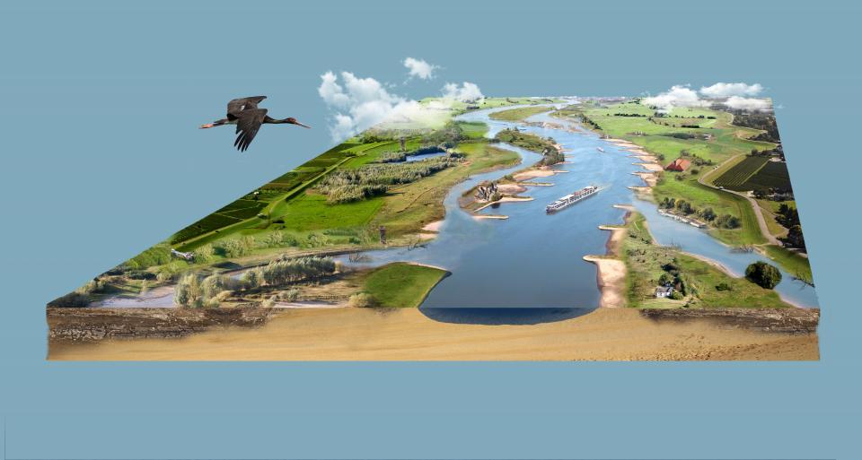 Een toekomstplan voor de rivieren in Nederland