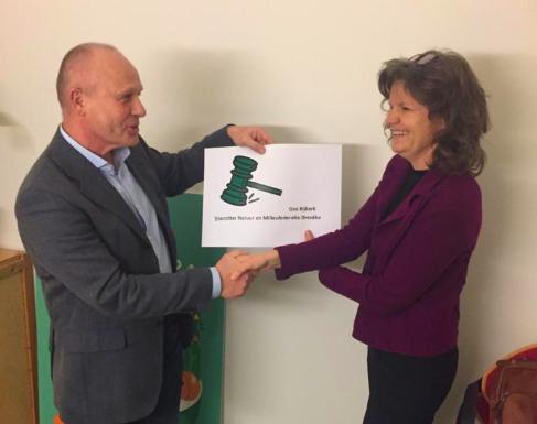 Gea Bijkerk: nieuwe voorzitter Stichtingsraad Natuur en Milieufederatie Drenthe