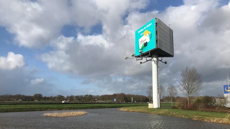 Natuur en Milieufederatie wil stop op reclamemasten langs A28