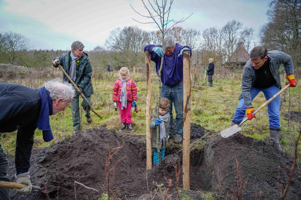 Bewonersinitiatieven en scholen krijgen 1.300 bomen van Plan Boom Drenthe
