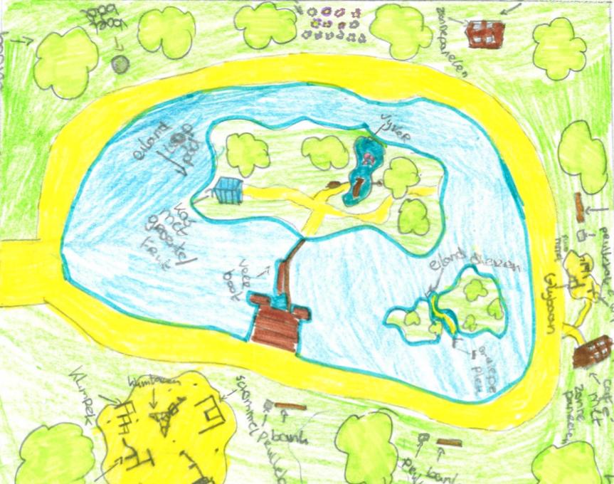 Tekenwedstrijd levert mooie ideeën op voor energietuin