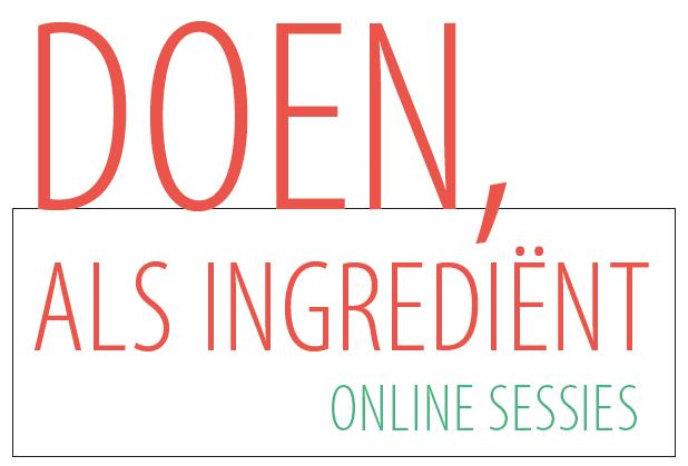 Webinars: Doen als ingrediënt